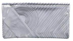 Reed Krakoff Metallic Fold-Over Clutch
