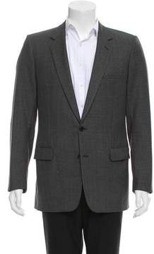 Christian Dior Two-Button Wool Blazer