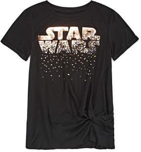 Fifth Sun Short Sleeve Crew Neck Star Wars Graphic T-Shirt