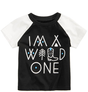 First Impressions Wild One-Print Cotton T-Shirt, Baby Boys (0-24 months), Created for Macy's