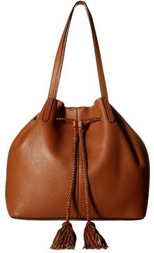 Rebecca Minkoff Unlined Drawstring Tote Tote Handbags - ALMOND - STYLE