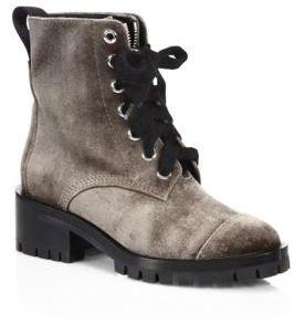 3.1 Phillip Lim Hayett Velvet Boots