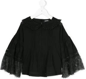 Diesel lace detail blouse