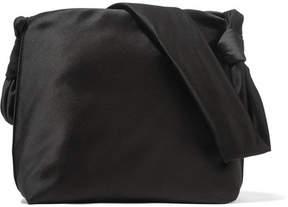 The Row Wander Small Satin Shoulder Bag - Black