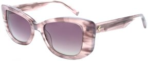 KENDALL + KYLIE Kendall & Kylie Mirrored Rectangle Sunglasses