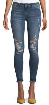 DL1961 Premium Denim Emma Power Distressed Skinny-Leg Jeans