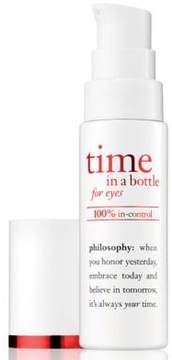 Philosophy Time in a Bottle 100pct In-Control Repair Renew Resist Eye Serum