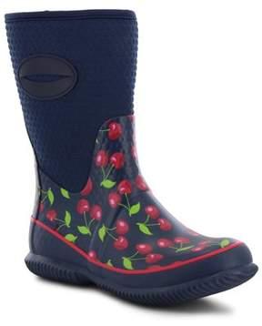 Western Chief Women's Retro Cherry Neoprene Mid Boot