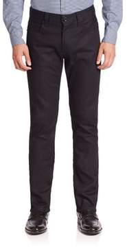 Giorgio Armani Solid Denim Jeans