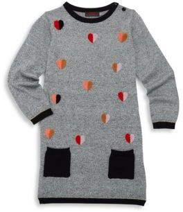 Catimini Toddler's, Little Girl's & Girl's Long Sleeve Embroidered Dress