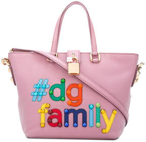 Dolce & Gabbana Family tote - PINK & PURPLE - STYLE