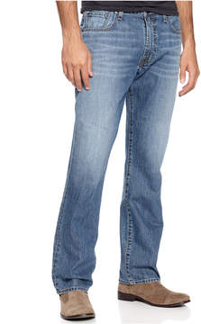 Lucky Brand Men's 181 Relaxed Fit Straight Light Cardiff Jeans