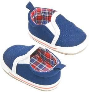 Osh Kosh Baby Boy Quilted Slip-On Crib Shoes