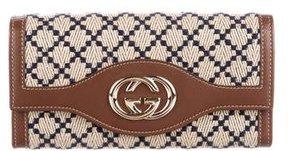 Gucci Diamante Sukey Continental Wallet - BLUE - STYLE