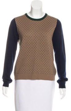 Band Of Outsiders Wool Patterned Sweater
