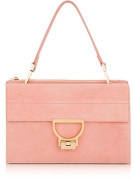 Coccinelle Suede Arlettis Shoulder Bag
