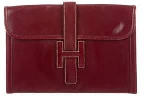 Hermes Box Jige 29 - BURGUNDY - STYLE