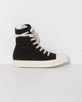 Rick Owens High Top Canvas Sneaker