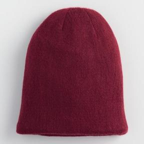 World Market Wine and Blush Reversible Knit Hat
