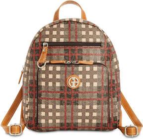 Giani Bernini Plaid Signature Backpack