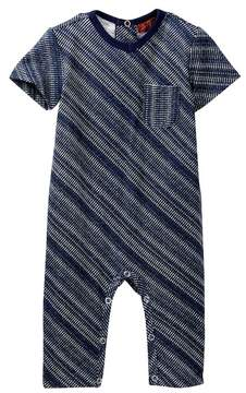 7 For All Mankind V-Neck Coverall (Baby Boys)