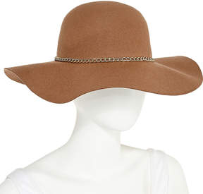Scala Gold Chain Floppy Hat