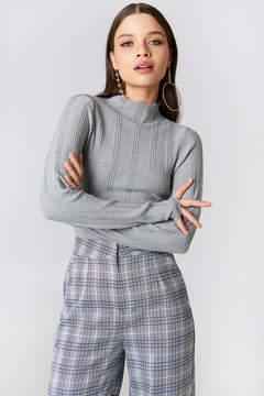 NA-KD Na Kd Wide Ribbed Knitted Sweater