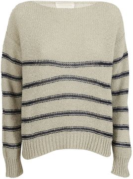Chiara Bertani Striped Sweater