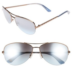 Juicy Couture Women's Black Label 60Mm Gradient Aviator Sunglasses - Brown
