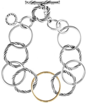 Peter Thomas Roth Signature Mixed Link 18K & Silver Link Bracelet