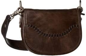 Frye Melissa Whipstitch Mini Saddle Sling Handbags