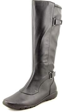 Easy Spirit Adriano Women Round Toe Synthetic Black Knee High Boot