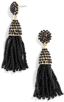 BaubleBar Women's Mini Pinata Tassel Drop Earrings