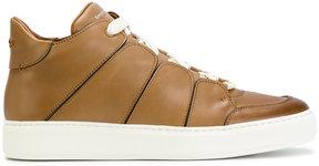Ermenegildo Zegna lace-up hi-top sneakers