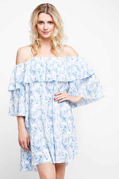 Elliatt Dynasty Ruffle Sleeve Dress