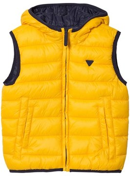 Mayoral Navy and Yellow Reversible Gilet