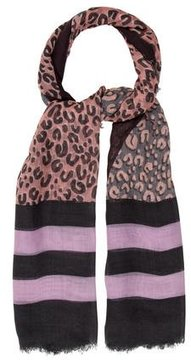 Louis Vuitton Leopard V Scarf