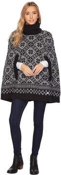 Dale of Norway Rose Poncho Women's Clothing
