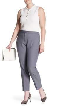 Atelier Luxe Narrow Leg Woven Pants (Plus Size)
