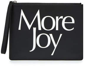 Christopher Kane More Joy Leather Clutch