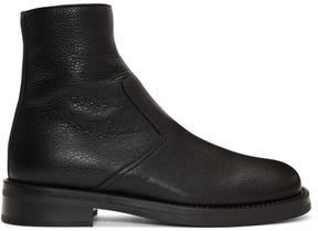 Neil Barrett Black Short Biker Boots
