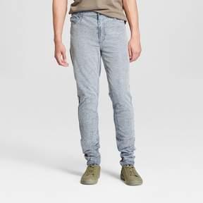 Jackson Men's Distressed Stretch Denim Skinny Pants Light Blue