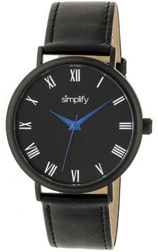 Simplify The 2900 Collection SIM2904 Unisex Watch with Leather Strap