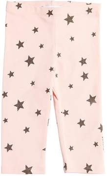 Little Marc Jacobs Star Print Cotton Interlock Legging