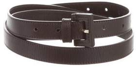 Loro Piana Leather Waist Belt