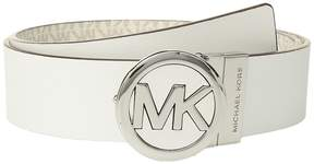 MICHAEL Michael Kors Smooth Leather Reversible Belt Women's Belts