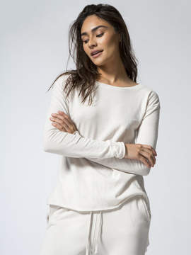 Frank And Eileen Long Sleeve Tee W/ Shirttail