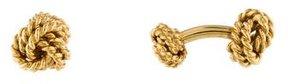 Tiffany & Co. 18K Woven Knot Cufflinks