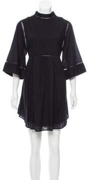 Apiece Apart Scoop-Neck Mini Dress