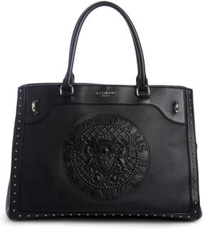 Balmain Renaissance Leather Tote